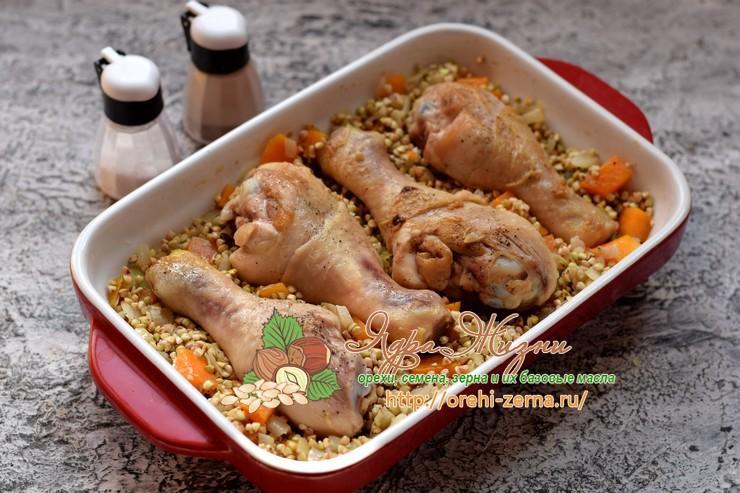 гречка с курицей рецепт в домашних условиях
