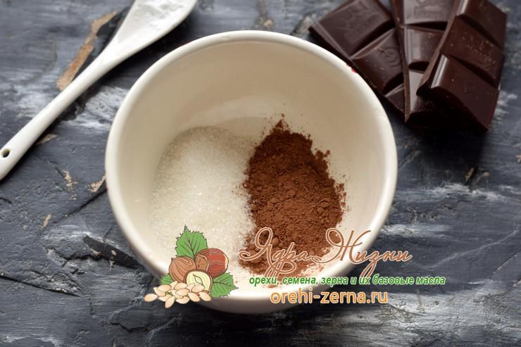 горячий шоколад из какао-порошка