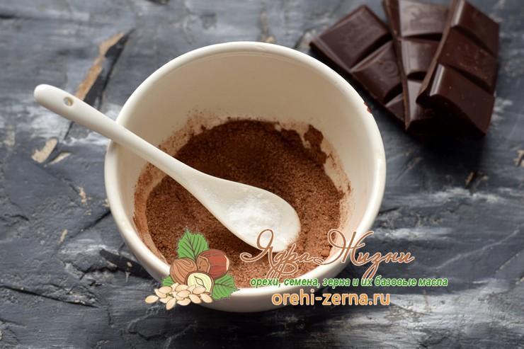 горячий шоколад из какао-порошка рецепт