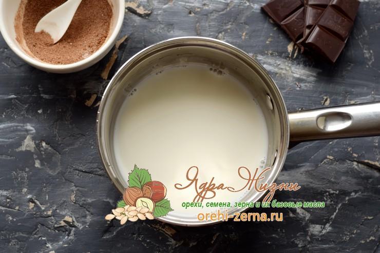 горячий шоколад из какао-порошка рецепт с фото