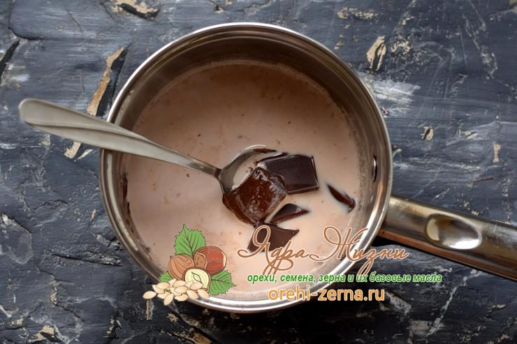 горячий шоколад из какао-порошка рецепт в домашних условиях