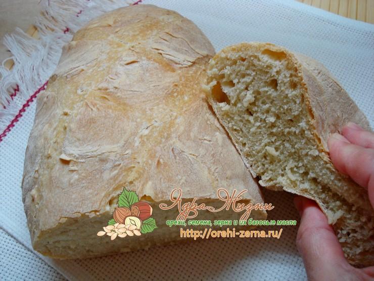 Итальянский хлеб Чиабатта: рецепт в домашних условиях