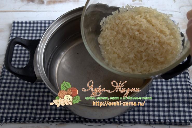 Как варить пропаренный рис рецепт в домашних условиях