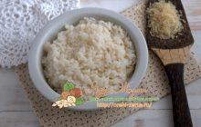 Как варить пропаренный рис рецепт