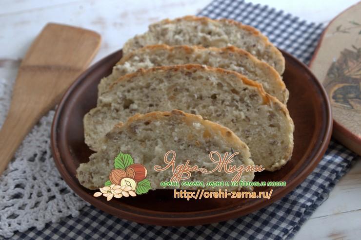 Крестьянский хлеб со льном и семенами подсолнечника: рецепт в домашних условиях