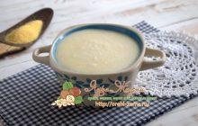Кукурузная каша с манкой: рецепт в домашних условиях