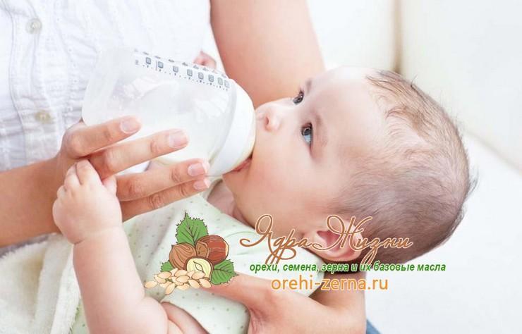 детская смесь без пальмового масла