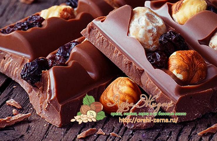 калорийность шоколада и гликемический индекс