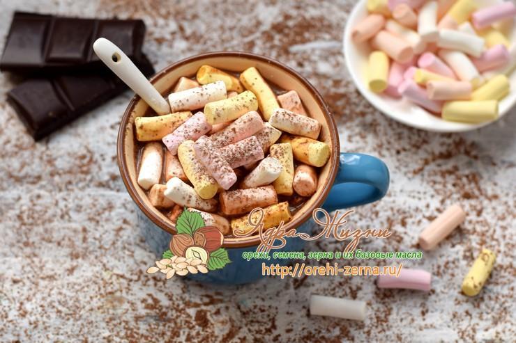 горячий шоколад с маршмеллоу рецепт в домашних условиях
