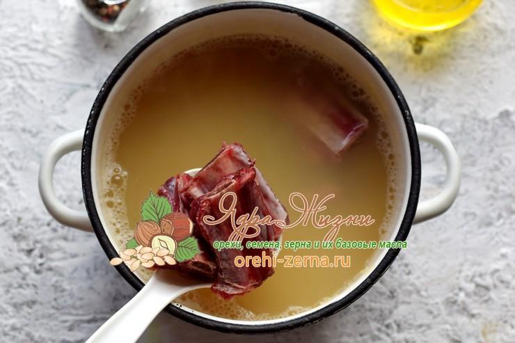 гороховый суп рецепт в домашних условиях