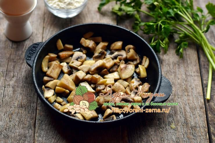 гречневый суп с грибами и картофельными клецками рецепт