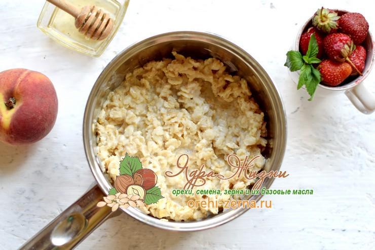овсяная каша на кокосовом молоке рецепт с фото