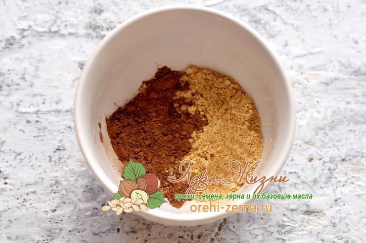 пирожное Картошка из печенья и какао рецепт в домашних условиях