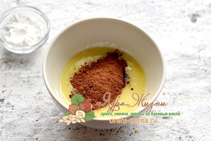пирожное Картошка из печенья и какао рецепт с фото