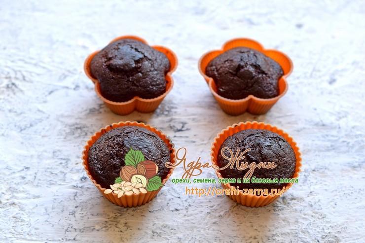 маффины с шоколадом и какао рецепт в домашних условиях