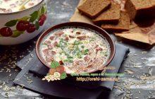 Сырный суп с рисом и копченой колбасой рецепт в домашних условиях
