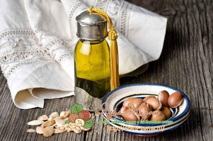 аргановое масло в медицине: использование в чистом виде