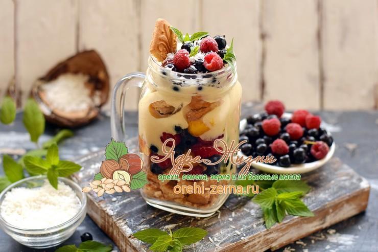 кокосовый десерт рецепт в домашних условиях