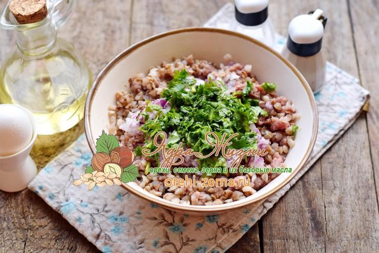 гречаники с фаршем рецепт пошагово