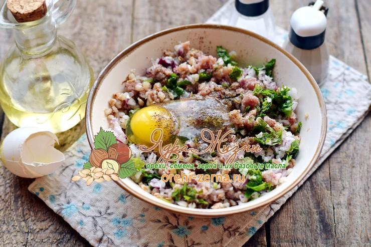 гречаники с фаршем рецепт приготовления