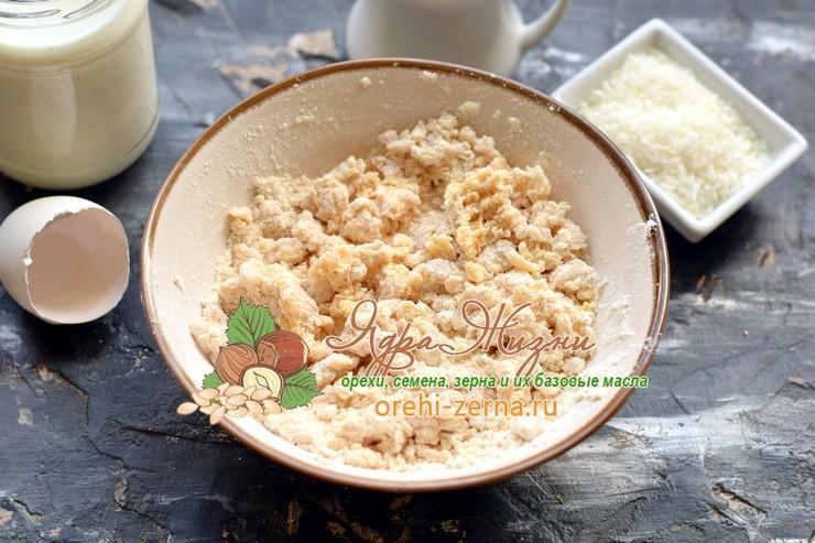 блины из кокосовой муки рецепт приготовления