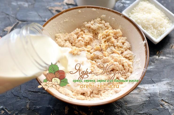 блины из кокосовой муки рецепт в домашних условиях