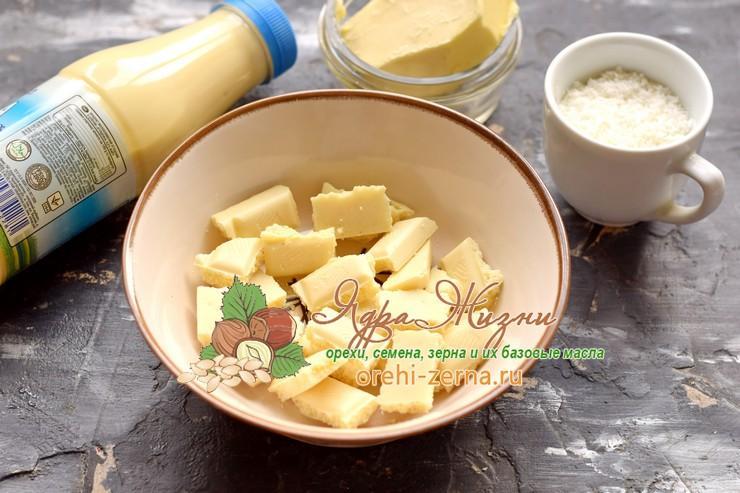 кокосовый крем рафаэлло рецепт