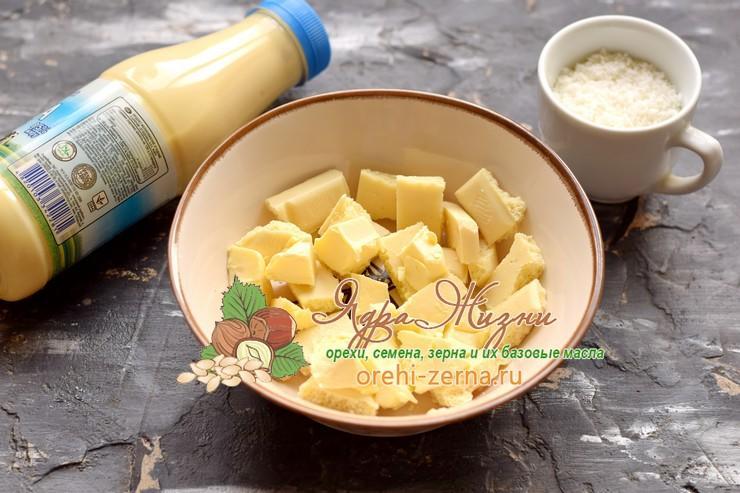 кокосовый крем рафаэлло рецепт с фото