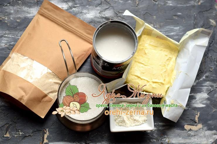 кокосовый заварной крем