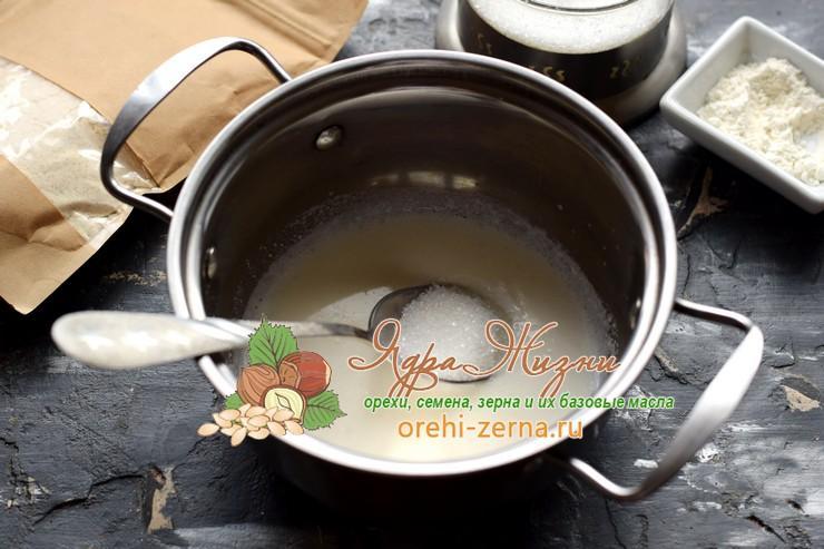 кокосовый заварной крем рецепт
