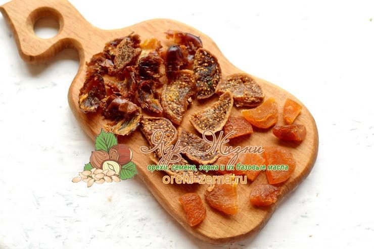 овсяная каша с орехами и сухофруктами рецепт