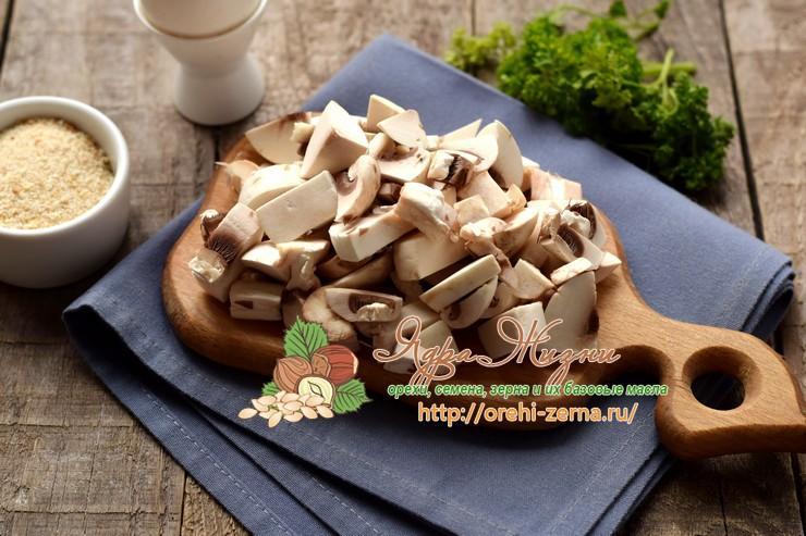 овсяные котлеты с грибами рецепт