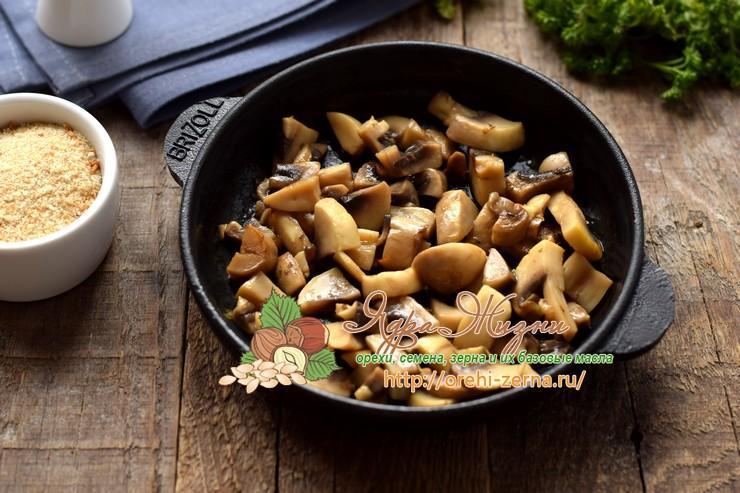 овсяные котлеты с грибами рецепт в домашних условиях