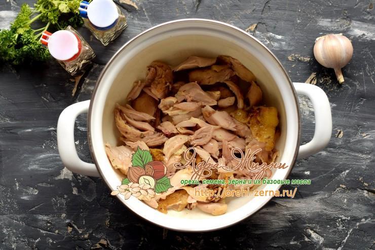 плов из булгура с курицей рецепт в домашних условиях
