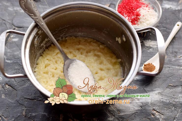 рисовая каша на кокосовом молоке рецепт в домашних условиях