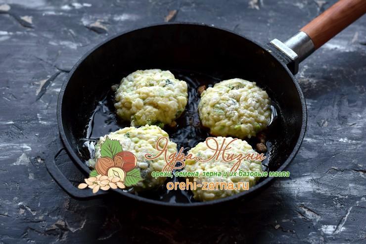 котлеты из кабачков с рисом рецепт в домашних условиях