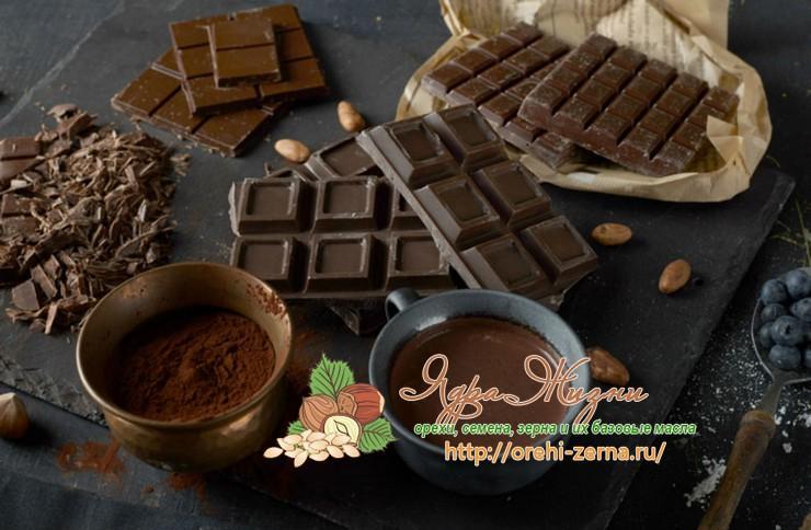 Польза и вред черного шоколада для организма