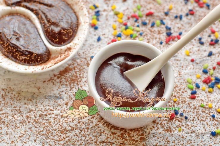 Шоколадная паста из какао порошка: рецепт в домашних условиях