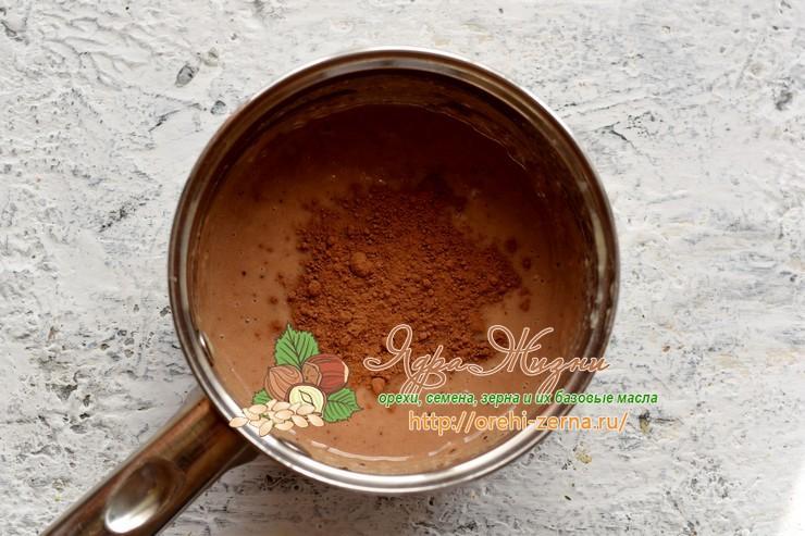 шоколадная паста из какао рецепт в домашних условиях