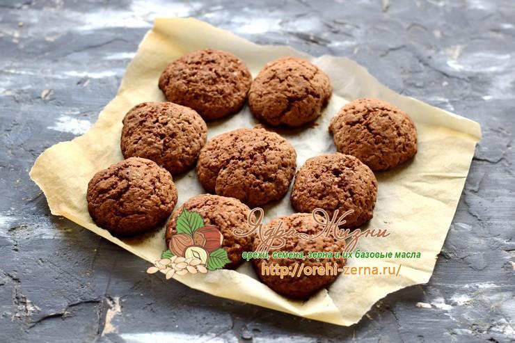шоколадное печенье с какао рецепт в домашних условиях