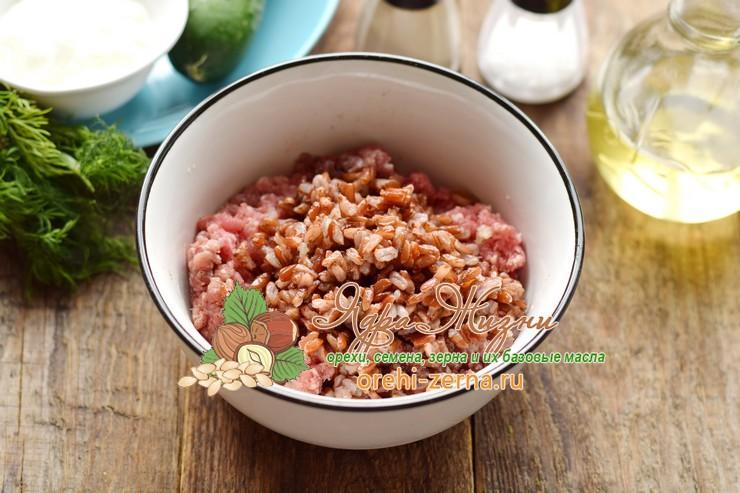 мясные ежики с красным рисом рецепт пошагово