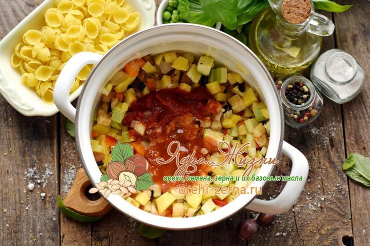 суп минестроне с фасолью рецепт в домашних условиях