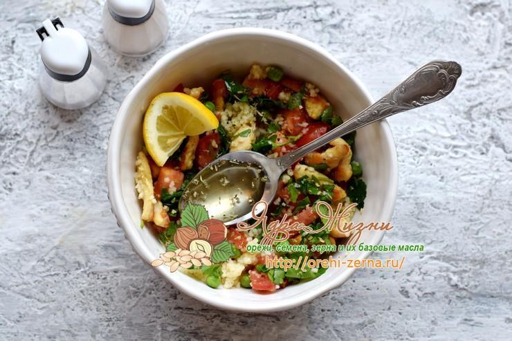 салат с кус-кусом и курицей рецепт в домашних условиях