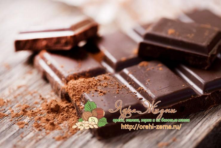 условия хранения шоколада температура