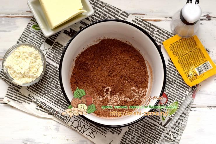 как сделать шоколадный крем из какао для торта