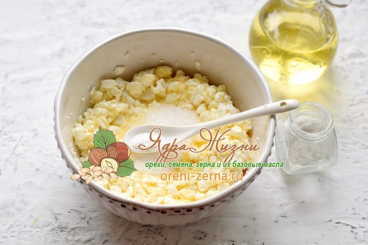 сырники с кокосовой мукой рецепт с фото
