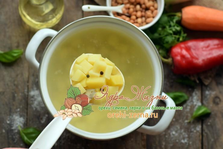 суп с фрикадельками и фасолью рецепт
