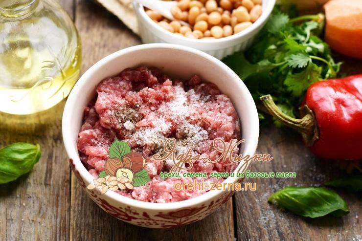 суп с фрикадельками и фасолью рецепт с фото