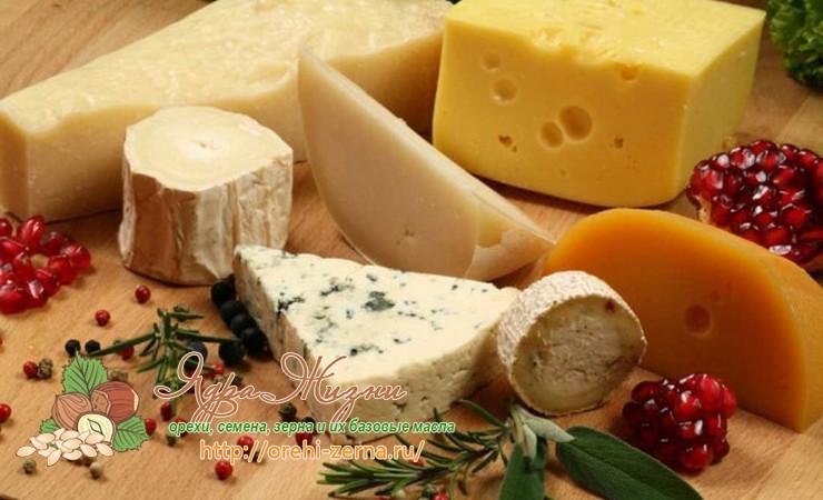 Сыр из пальмового масла