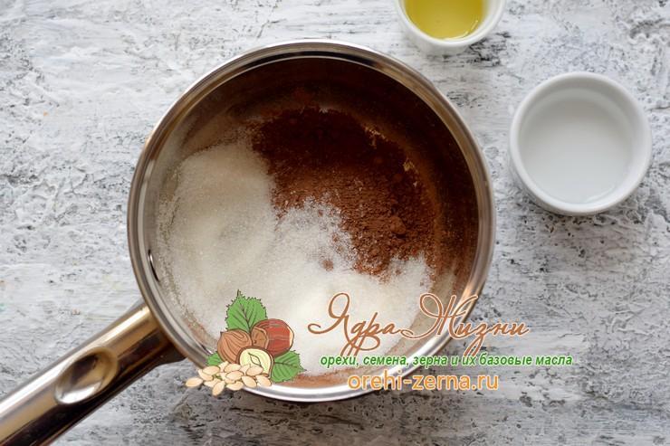 глазурь из какао порошка рецепт